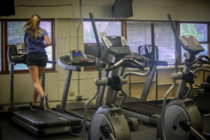 Cardio Room at Grand Lake Center with runner