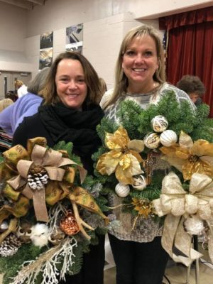 Do you have a big workshop coming up? We have space for all types of activities, including this wreath decorating event.